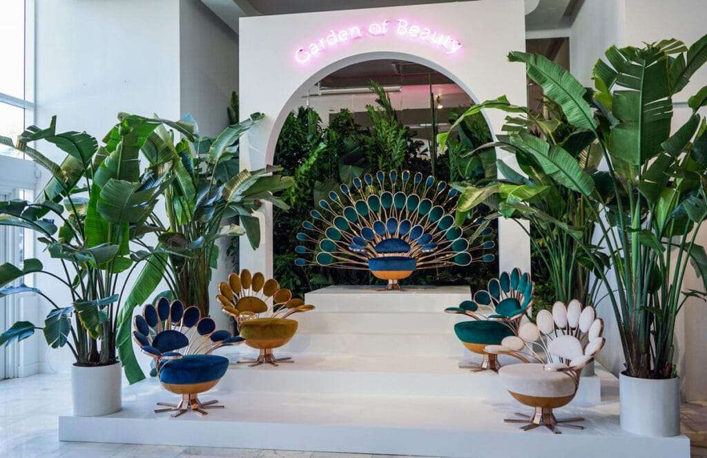 garden of beauty di marc ange