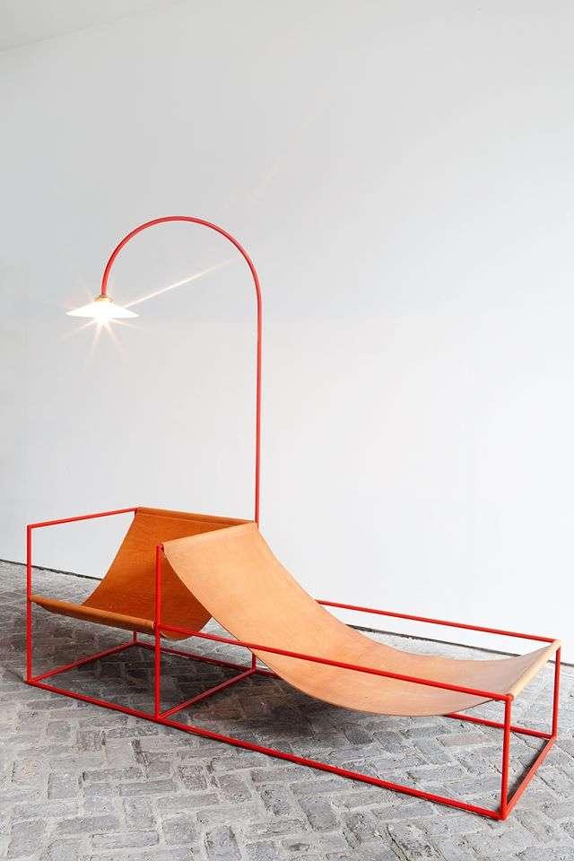 """""""Duo Seat + Lamp"""" del duo belga Muller Van"""