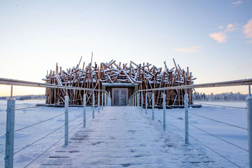 L'Arctic Bath Hotel: il design in Svezia
