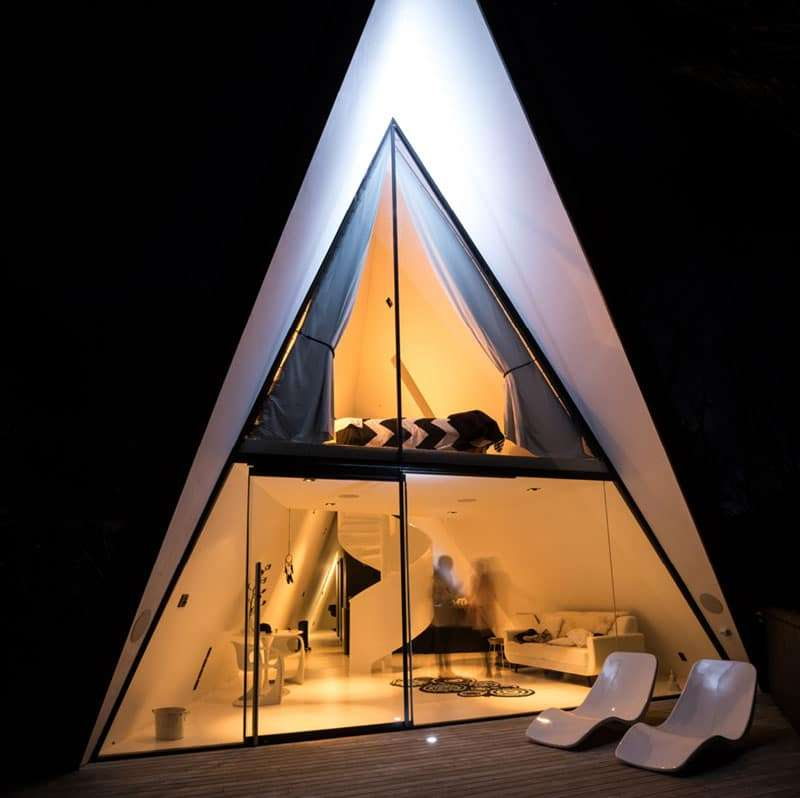 La Tent House di Chris Tate