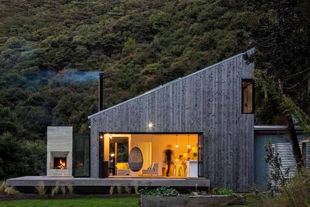 Back Country House nel villaggio di Puhoi in nuova Zelanda