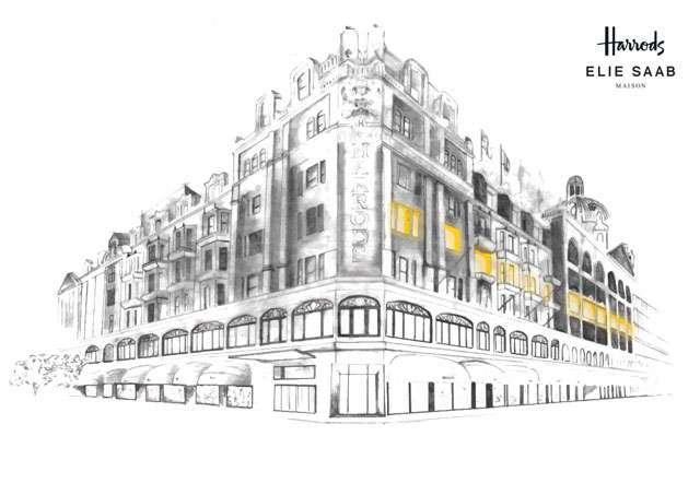 La haute interior di Elie Saab si sviluppa con Zambaiti Parati