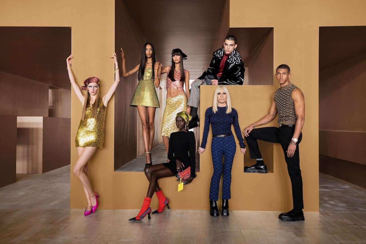 thumbnail_Donatella Versace and models_FW2021