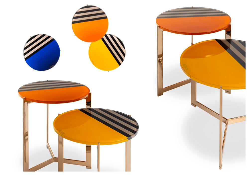 Il side table Ripple Pequin