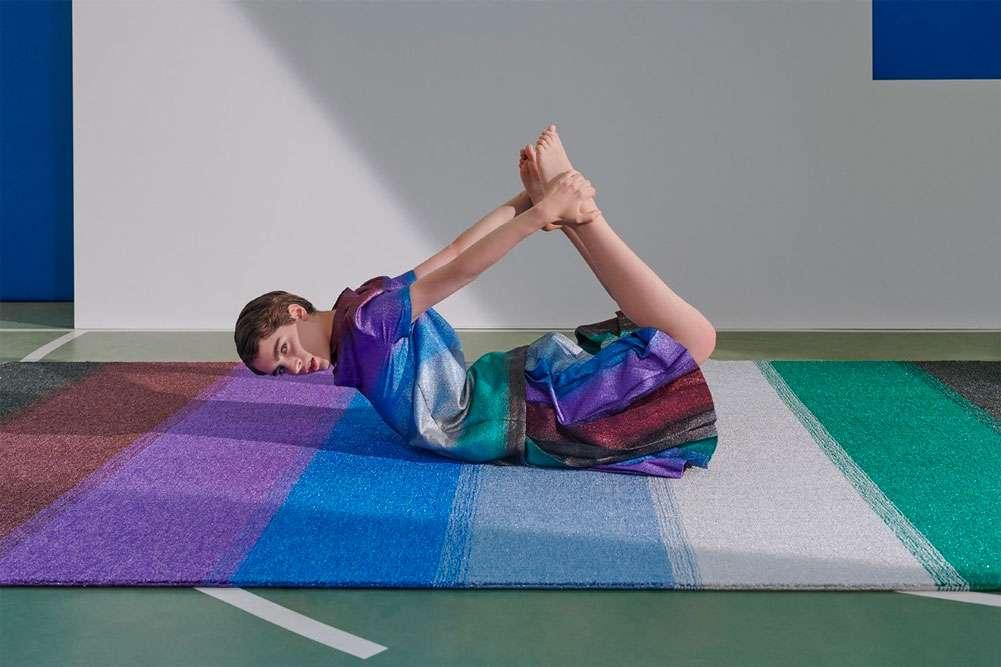 I tappeti in lurex di Marco De Vincenzo x cc-tapis per far brillare la casa