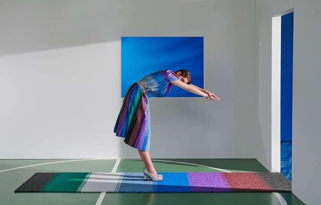 I tappeti in lurex di Marco De Vincenzo x cc-tapis per far brillare la casa4