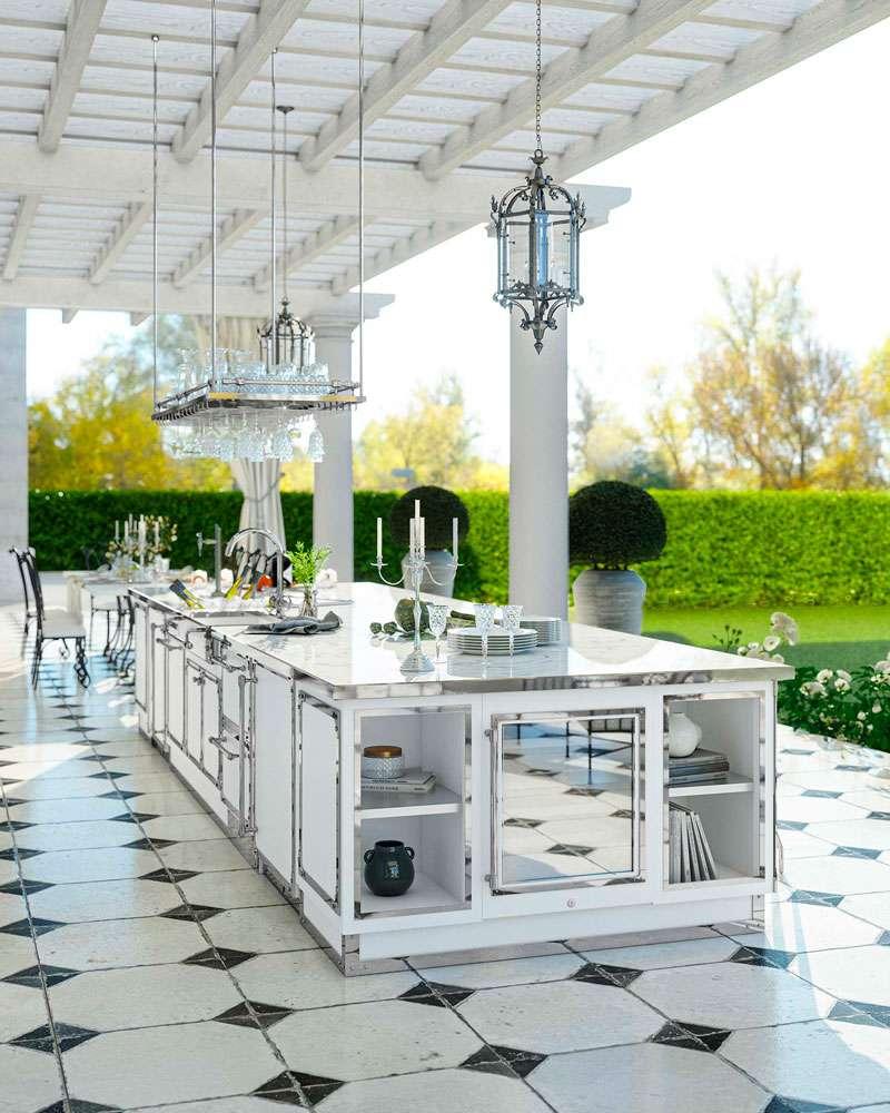 Le cucine outdoor di Officine Gullo