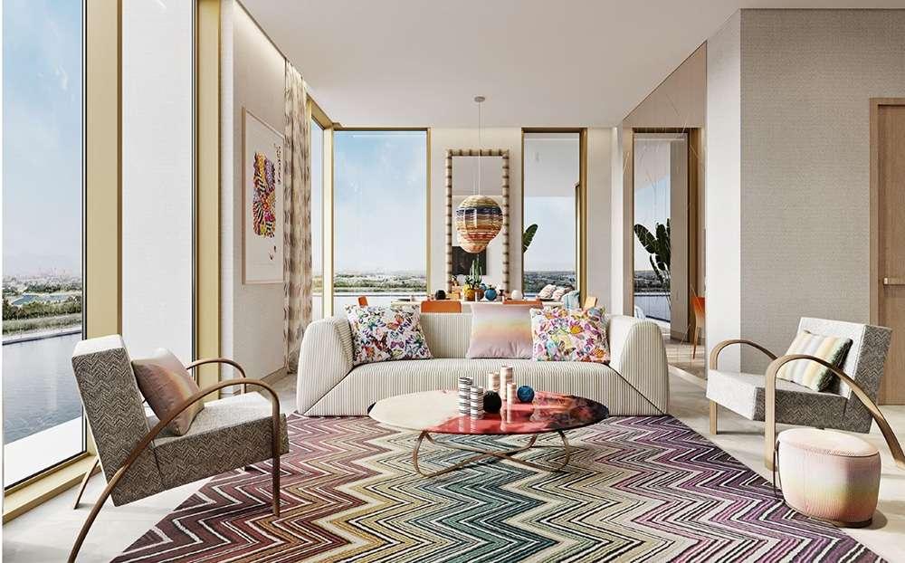 Urban Oasis Missoni arricchisce Dubai di un nuovo grattacielo_apartment